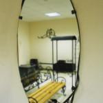 Кованое обрамление зеркала