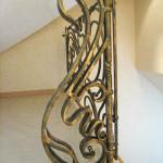 Кованая балясина лестничного ограждения