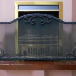 Кованый каминный экран
