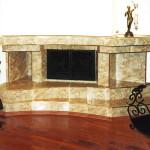 Кованая каминная решетка, стойка и корзина для дров