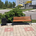 Урна скамейка