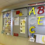 Информационный стенд,  варианты объемных буквы